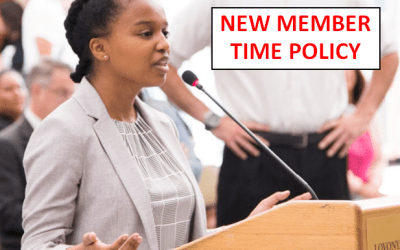 UPDATED Member Time Policy