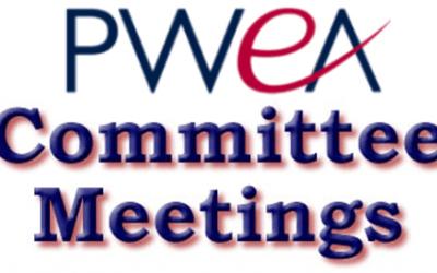 Next Week's Committee Meeting Schedule